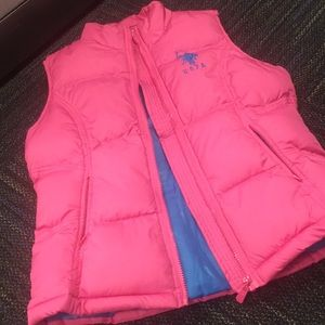 Women's Polo size Large Vest (Pink)